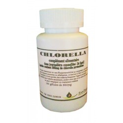 Chlorella 125 gélules