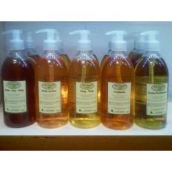 Gel douche Flacon aux huiles essentielles