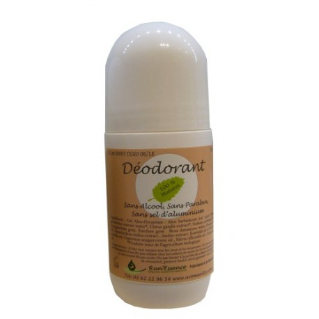 Déodorant 100 % naturel - roll on 70 ml - Femme
