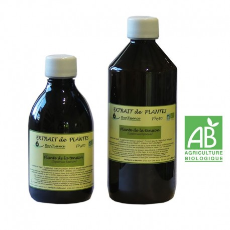 Plantes de la tension 310 et 550 ml