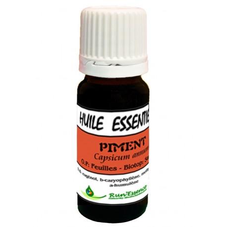 Piment feuille 10ml - Capsicum annum