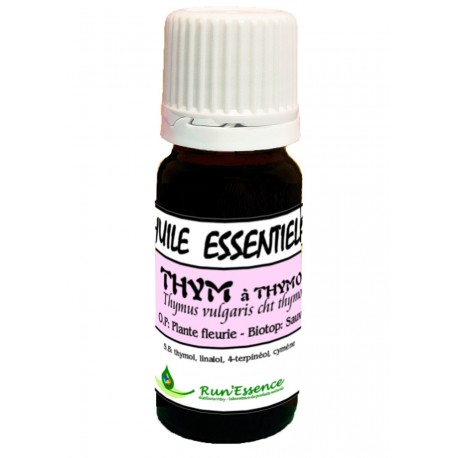 Thym Vulgaire à thymol 10ml - Thymus vulgarisCht thymol