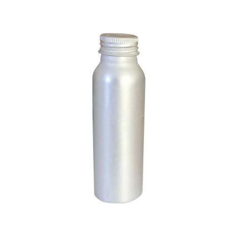3 Flacons alu 125 ml + capsule alu - bague 24