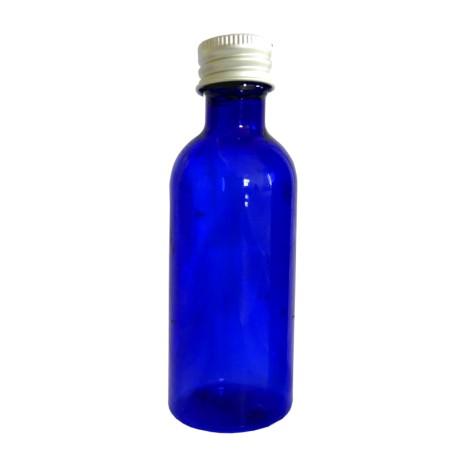 5 Flacons PET bleu nuit 100 ml
