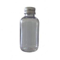 5 Flacons cristal transparent 60 ml bague 20 + capsule alu