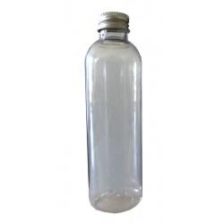 5 Flacons cristal transparent 75 ml + capsule alu bague 20