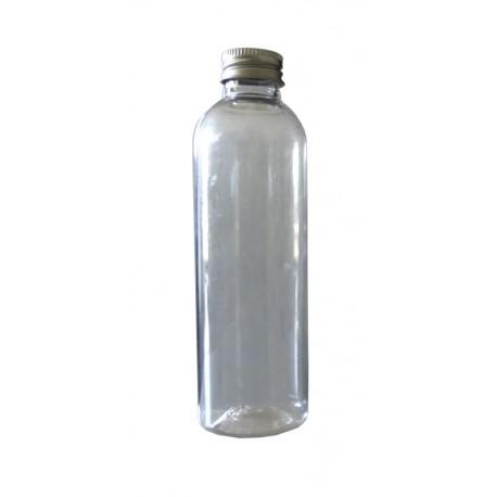 Flacon cristal transparent 1000 ml bague 28 + capsule alu, l'unité
