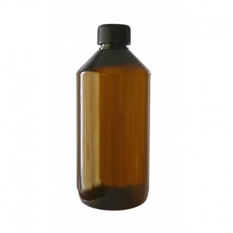 3 Flacons PET brun 1000 ml