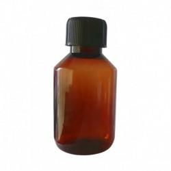 5 Flacons PET brun 120 ml