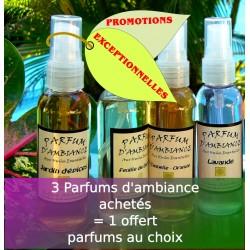 3 parfums d'ambiance pour le prix de 4