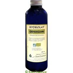 Hydrolat Géranium Bourbon Rosat 200 ou 1000 ml AB