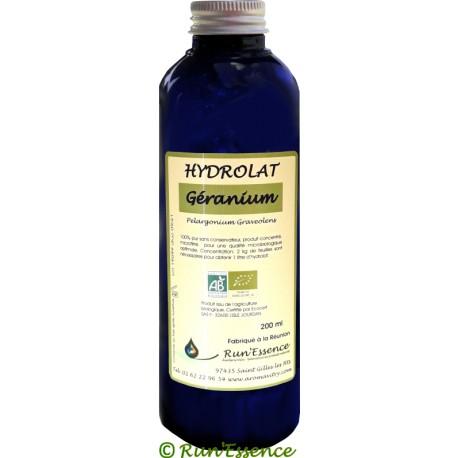 Hydrolat Géranium Bourbon Rosat