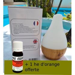 """Diffuseur-humidificateur """"Julia"""" d'huiles essentielles aux ultrasons.."""