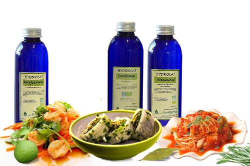aromatiser vos plats avec les hydrolats
